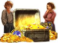 Играт в флеш игру Поиск предметов Легенды. Тайна старинного сундука бесплатно