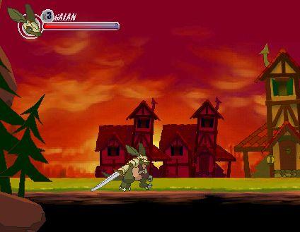 Играт в флеш игру Бегалки Armadillo knight бесплатно