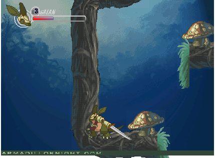Играт в флеш игру Бегалки Armadillo knight 2 бесплатно