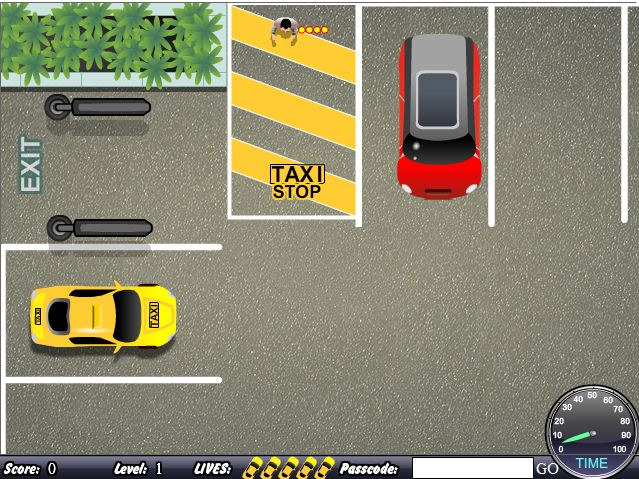 Флеш игра Эй, такси!