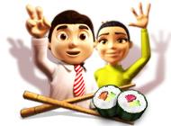 Играт в флеш игру Бизнес Youda. Суши шеф бесплатно