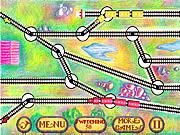 Играт в флеш игру Головоломки Switchman 2 - Стрелочник 2 бесплатно