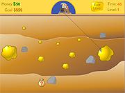 Играт в флеш игру Головоломки Gold Miner - Минер бесплатно